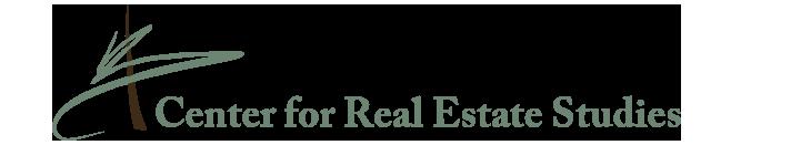 center for real estate studies